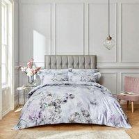 Amethyst Heather Double Duvet Cover Set 400TC 100% Cotton Reversible Bedding - Bianca