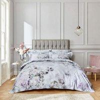 Bianca Amethyst Heather King Size Duvet Cover Set 400TC 100% Cotton Reversible Bedding