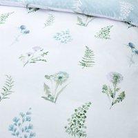 Meadow Flowers White Single Duvet Cover Set Reversible Bed Linen Bedding - Bianca