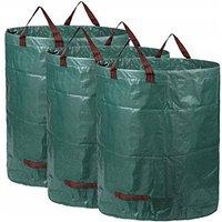Big Bag Garden Bag Set Bag Bag Garden Bag Garbage Bag 300L * 3PC