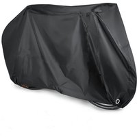Bike Cover for 2 Bikes,210D Oxford Heavy Duty Outdoor Waterproof 2 Bicycle Covers UV Dust Sun Wind Proof with Lock Eyes Protection For One 29