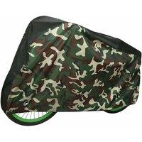 Bike Cover Waterproof Outdoor Indoor Bike Protector with Lock Hole (Camouflage),model:Camouflage