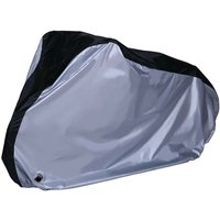 Bike Cover Waterproof Outdoor Indoor Bike Protector with Lock Hole (Silver),model:Silver