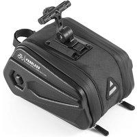 West Biking - Bike Trunk Bag Bicycle Rack Bag Waterproof Rain Cover Bag Cycling Rear Rack Bag,model:Black