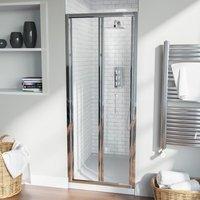 Bill Bi Folding 760 mm Glass Shower Door Panel - NESHOME