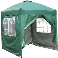 BIRCHTREE Pop Up Gazebo 2X2M Green - KMS