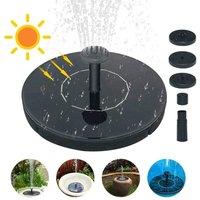 Birdbath Solar Fountain Pump,1.5W Circle Garden Solar