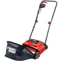 Black and Decker 600W GD300 Electric Lawnraker Scarifier Grass Rake 30cm 240v