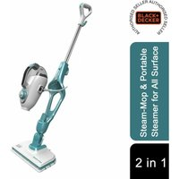 BLACK+DECKER HSMC1321 5in1 Steam-Mop and Portable Steamer for All Surface