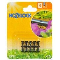 10 x 2779 Micro Irrigation Blanking Plug 13mm Automatic Garden Watering - Hozelock