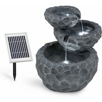 Murach Cascade Fountain Battery-operated 2 kW Solar Panel 3 LEDs