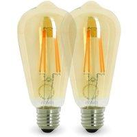 Lote de 2 bombillas LED E27