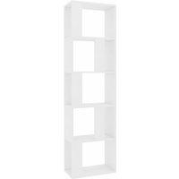 Book Cabinet/Room Divider White 45x24x159 cm Chipboard - VIDAXL