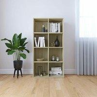 Book Cabinet/Sideboard Sonoma Oak 66x30x130 cm Chipboard