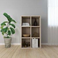 Book Cabinet/Sideboard Sonoma Oak 66x30x97.8 cm Chipboard