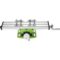 Asupermall - Brand New Mini Compound Bench Drilling Slide Table Worktable Milling Working Cross Table Milling Vise Machine for Bench Drill Stand