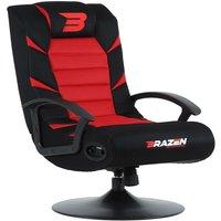BraZen Pride 2.1 Bluetooth Surround Sound Gaming Chair - Red