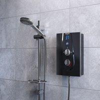 Glee Electric Shower, Black, 8.5kW - Bristan