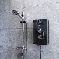 Glee Electric Shower Black 9.5kW - Bristan