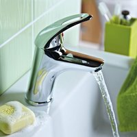 Java Basin Mixer Tap without Waste, Chrome - Bristan