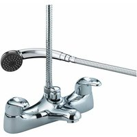 Java Eco6 Chrome Bath Shower Mixer Tap - J-BSM-E6-C - Bristan