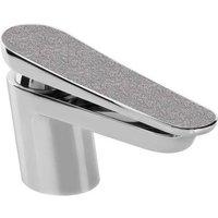 Metallix Claret Silver Sparkle Mono Basin Mixer Tap - MCLR-BASNW-SS - Bristan