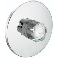 Commercial TS1503 Opac Concealed Shower Valve, Club Handle, Chrome - Bristan