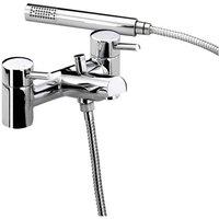 Bristan Prism Eco8 Chrome Bath Shower Mixer Tap - PM-BSM-E8-C