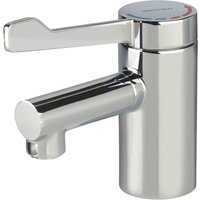 Bristan Solo2 Basin Mixer Tap with Long Lever and Copper Tails - No Waste