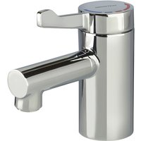 Bristan Solo2 Basin Mixer Tap with Short Lever - No Waste