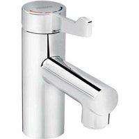 Bristan Solo Chrome Non Thermostatic Healthcare Mono Basin Mixer Tap with Short Lever - SOLO-NM-SL