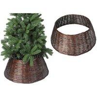 Christmas Willow Tree Skirt Brown 70CM X 28CM