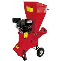 LEA - Broyeur de jardin pour végétaux diamètre max 76mm moteur thermique 212cc 5,6 cv LE56212