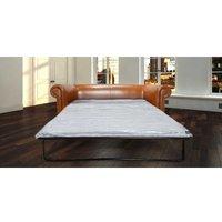 Designer Sofas 4 U - Bruciato Leather Chesterfield Sofa Bed |DesignerSofas4U