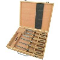 7 Piece Wood Carving Tool Set 66107 - Brüder Mannesmann