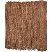 Zqyrlar - Brushwood Fence 400x150 cm - Brown