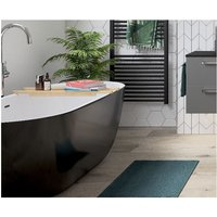 Bathrooms To Love - BTL Harlesden Freestanding 1655x740x580mm Bath - Black