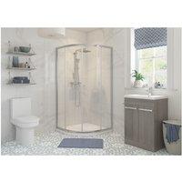 BTL Reflexion Classix Framed 900mm 2 Door Quadrant Shower Enclosure - BATHROOMS TO LOVE
