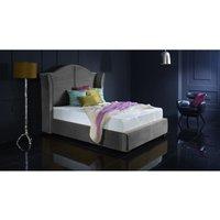 Buckingham Asphalt Malia Double Bed Frame