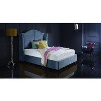 Buckingham Blue Malia Double Bed Frame