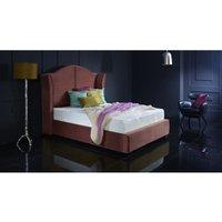 Furniturebox Uk - Buckingham Burgundy Malia Double Bed Frame