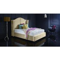 Furniturebox Uk - Buckingham Cream Malia Double Bed Frame