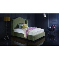 Buckingham Forest Green Malia Double Bed Frame