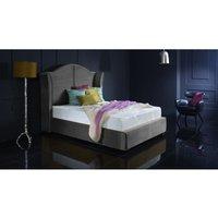 Buckingham Grey Malia Double Bed Frame