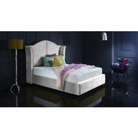 Furniturebox Uk - Buckingham Silver Malia Double Bed Frame