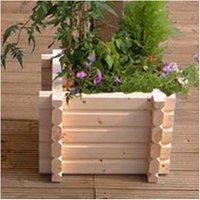 Buildround 36x36 sq planter - NORLOG UK LTD