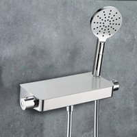 Bulby Thermostatic Glass Top Shower Mixer