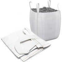 Bulk Bag for Builders and Garden Waste Heavy Duty Sack 90x90x145cm - WILTEC