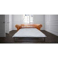 Buy Buttonless Chesterfield Sofa Bed| Bruciato leather