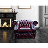 Designer Sofas 4 U - Buy Chesterfield Red Armchair Sofa Sale UK manufacturer DesignerSofas4U